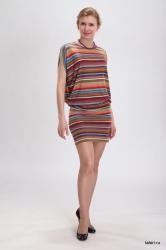 Практичная женская туника из вискозы - незаменимая модель летнего гардероба. Оригинальный вырез рукавов придаёт этой модели элегантную неповторимость. Из аксессуаров рекомендуем длинную нитку бус.  Цвет: терракотовый.